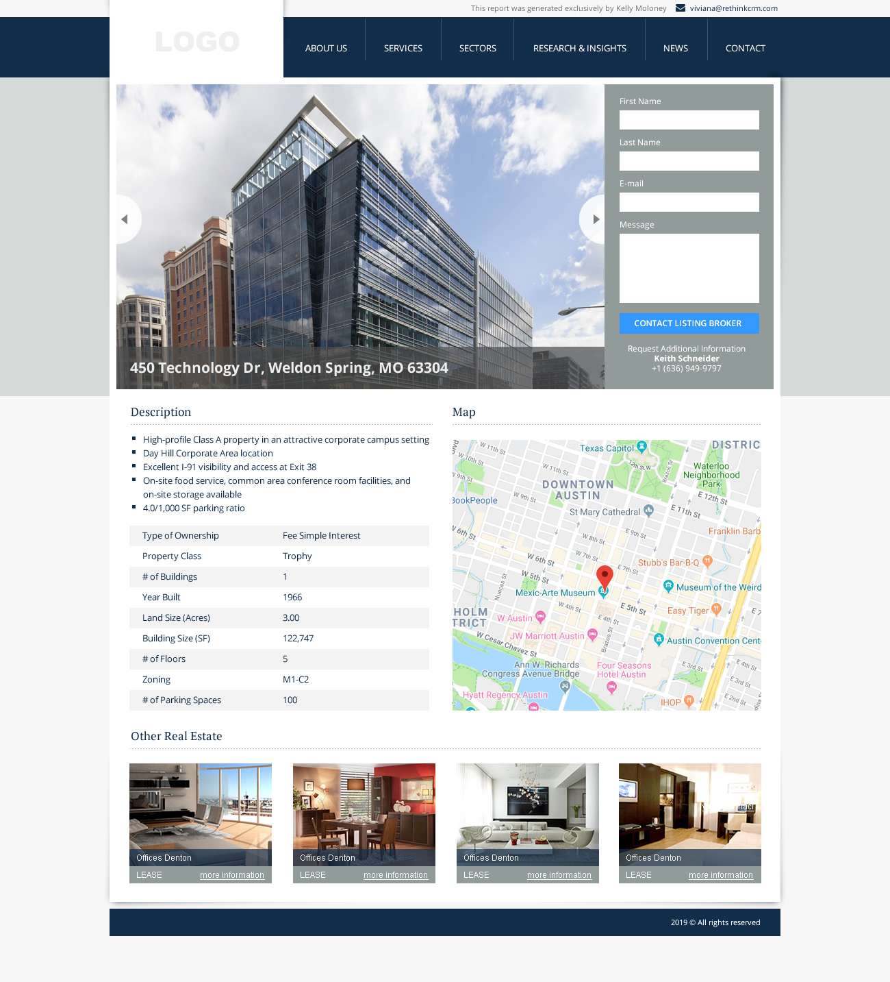 Property Sites screenshot