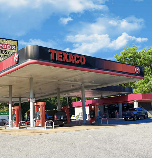 Picture of Texaco truck stop