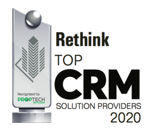 Rethink 2020 Top CRM Award Logo